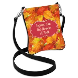 Fall Leaves Cross Body Bag - 2 Sizes