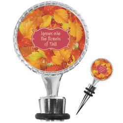 Fall Leaves Wine Bottle Stopper