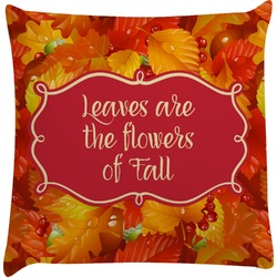 Fall Leaves Decorative Pillow Case