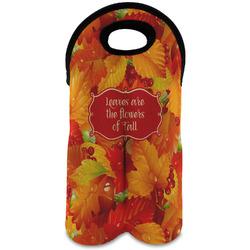 Fall Leaves Wine Tote Bag (2 Bottles)