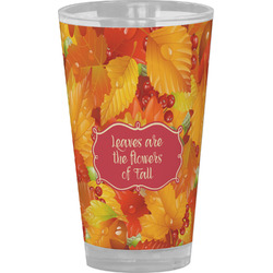 Fall Leaves Drinking / Pint Glass