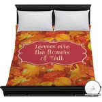 Fall Leaves Duvet Cover