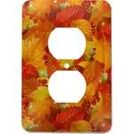Fall Leaves Electric Outlet Plate