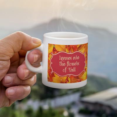 Fall Leaves Single Shot Espresso Cup - Single