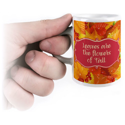 Fall Leaves Espresso Cups