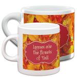 Fall Leaves Espresso Cups