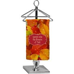 Fall Leaves Finger Tip Towel - Full Print