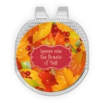 Fall Leaves Golf Ball Marker - Hat Clip