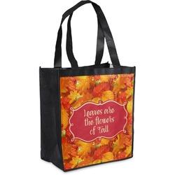 Fall Leaves Grocery Bag