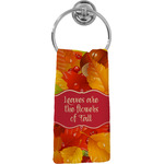 Fall Leaves Hand Towel - Full Print