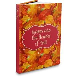 Fall Leaves Hardbound Journal