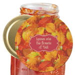 Fall Leaves Jar Opener