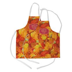 Fall Leaves Kid's Apron