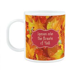 Fall Leaves Plastic Kids Mug