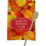 Fall Leaves Kitchen Towel - Full Print