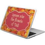 Fall Leaves Laptop Skin - Custom Sized
