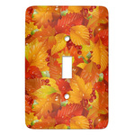 Fall Leaves Light Switch Covers - Multiple Toggle Options Available