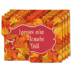 Fall Leaves Linen Placemat