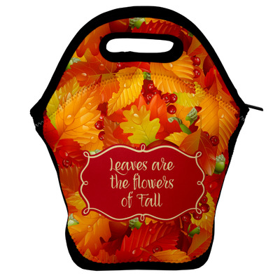 Fall Leaves Lunch Bag