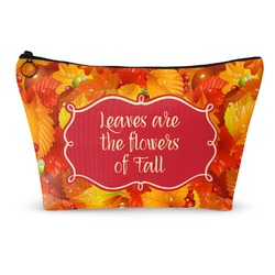 Fall Leaves Makeup Bags