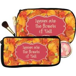 Fall Leaves Makeup / Cosmetic Bag
