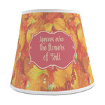 Fall Leaves Empire Lamp Shade