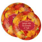 Fall Leaves Melamine Plate