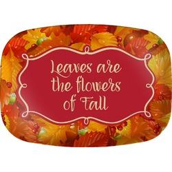 Fall Leaves Melamine Platter