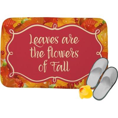 Fall Leaves Memory Foam Bath Mat