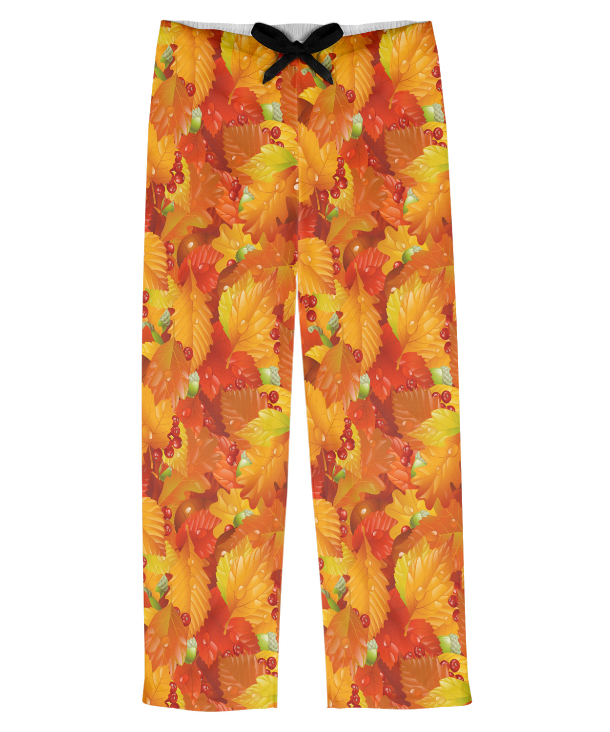 Fall Leaves Mens Pajama Pants - S - YouCustomizeIt 126066197