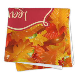 Fall Leaves Large Microfiber Dish Rag