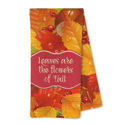 Fall Leaves Microfiber Kitchen Towel