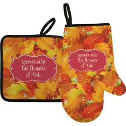 Fall Leaves Oven Mitt & Pot Holder