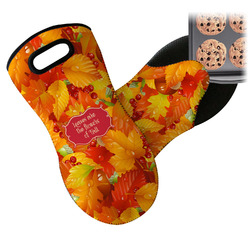 Fall Leaves Neoprene Oven Mitt