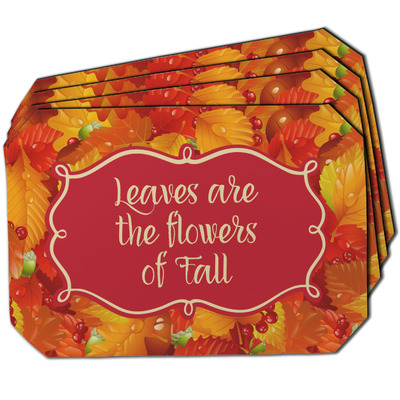 Fall Leaves Dining Table Mat - Octagon