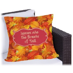 Fall Leaves Outdoor Pillow