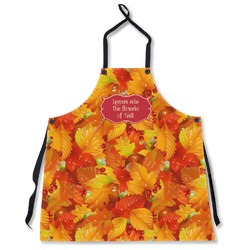 Fall Leaves Apron Without Pockets