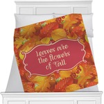 Fall Leaves Blanket