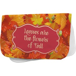 Fall Leaves Burp Cloth