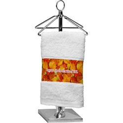 Fall Leaves Finger Tip Towel