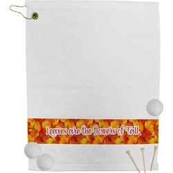Fall Leaves Golf Towel