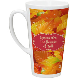 Fall Leaves 16 Oz Latte Mug