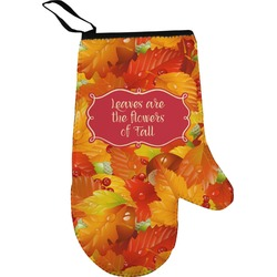 Fall Leaves Oven Mitt