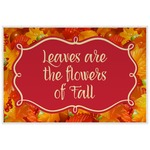 Fall Leaves Laminated Placemat