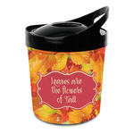 Fall Leaves Plastic Ice Bucket