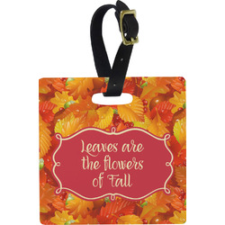Fall Leaves Luggage Tags