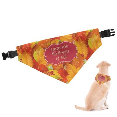 Fall Leaves Dog Bandana