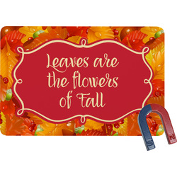Fall Leaves Rectangular Fridge Magnet