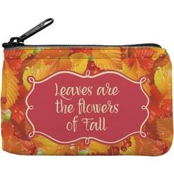 Fall Leaves Rectangular Coin Purse