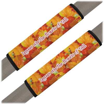 Fall Leaves Seat Belt Covers (Set of 2)